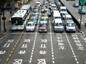 China has the biggest auto market in the world.