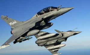 French-made Rafale fighter jets