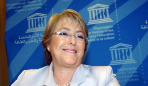 michelle bachelet conference