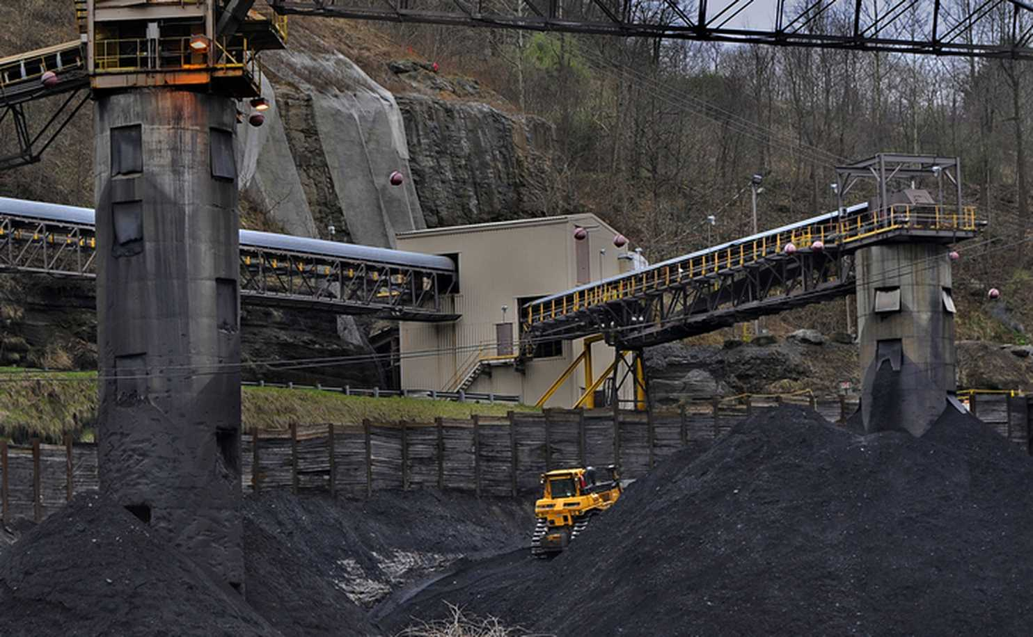 The coal industry is declining.